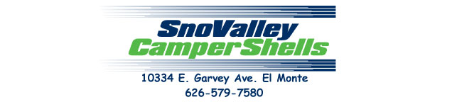 Snovalley Camper Shells